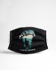 Big Foot Hate People Cloth face mask aos-face-mask-lifestyle-22