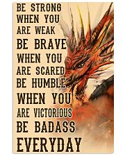 Dragon Be Strong 11x17 Poster front