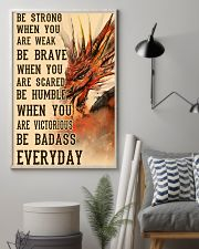 Dragon Be Strong 11x17 Poster lifestyle-poster-1