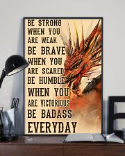 Dragon Be Strong 11x17 Poster lifestyle-poster-2