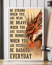 Dragon Be Strong 11x17 Poster lifestyle-poster-4