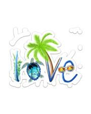 Turtle Love  Sticker - Single (Vertical) front