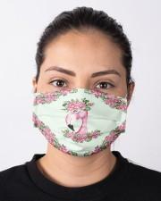 Flamingo Floral Cloth face mask aos-face-mask-lifestyle-01