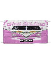 Breast Cancer Awareness Cloth face mask front