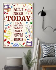 Quilting Jesus All I Need 11x17 Poster lifestyle-poster-1
