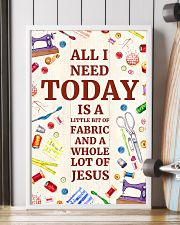 Quilting Jesus All I Need 11x17 Poster lifestyle-poster-4