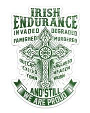 Irish Endurance Sticker - Single (Vertical) front