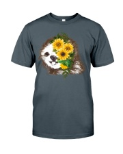 Sloth And Sunflower Classic T-Shirt thumbnail