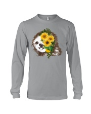 Sloth And Sunflower Long Sleeve Tee thumbnail