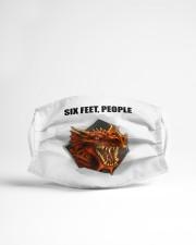 Dragon Six Feet  Cloth face mask aos-face-mask-lifestyle-22