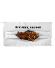 Dragon Six Feet  Cloth face mask front