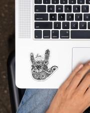 Sign Language Love Sticker - Single (Vertical) aos-sticker-single-vertical-lifestyle-front-11