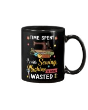 Time Spent With Sewing Machine Is Never Wasted Mug thumbnail