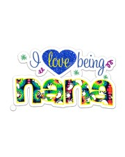 I Love Being Nana  Sticker - Single (Horizontal) front
