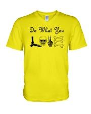 Love Radiology V-Neck T-Shirt thumbnail