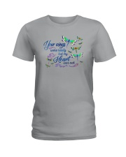 My Heart Was Not Ladies T-Shirt thumbnail