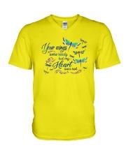 My Heart Was Not V-Neck T-Shirt thumbnail