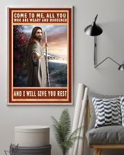 Jesus Come To Me Poster 11x17 Poster lifestyle-poster-1