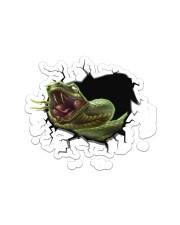 Python  Sticker - Single (Horizontal) front