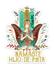 Namaste  Sticker - Single (Vertical) front