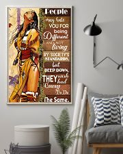 Native Being Different 11x17 Poster lifestyle-poster-1