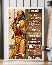 Native Being Different 11x17 Poster lifestyle-poster-4