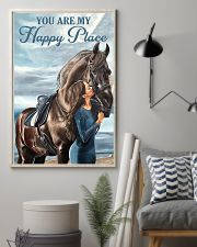 Horse  You Are My Happy Place 11x17 Poster lifestyle-poster-1