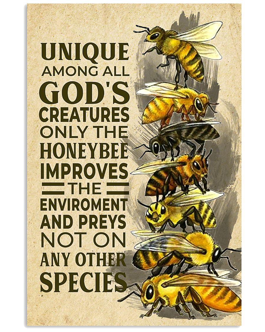 Bee Unique Creature 11x17 Poster