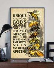 Bee Unique Creature 11x17 Poster lifestyle-poster-2