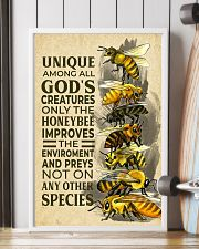 Bee Unique Creature 11x17 Poster lifestyle-poster-4