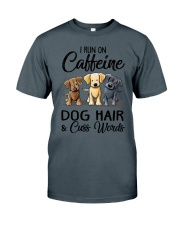 Dog Hair And Cuss Words Classic T-Shirt tile