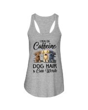 Dog Hair And Cuss Words Ladies Flowy Tank thumbnail