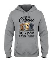 Dog Hair And Cuss Words Hooded Sweatshirt thumbnail