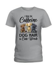 Dog Hair And Cuss Words Ladies T-Shirt thumbnail