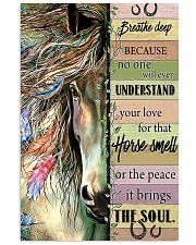 Horse Breathe Deep 11x17 Poster front