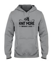 Knitting More Hooded Sweatshirt thumbnail