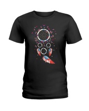 Butterfly Dreamcatcher Us Ladies T-Shirt thumbnail
