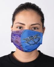 Dragonfly Mandala Cloth face mask aos-face-mask-lifestyle-01