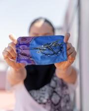 Dragonfly Mandala Cloth face mask aos-face-mask-lifestyle-07