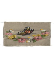 Butterfly NTV Cloth face mask front