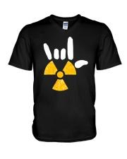 Rocking Radiology V-Neck T-Shirt thumbnail
