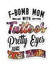 F-bomb Mom  Sticker - Single (Vertical) front