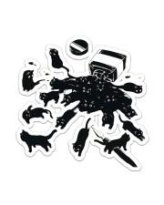 Cat Ink  Sticker - Single (Vertical) front
