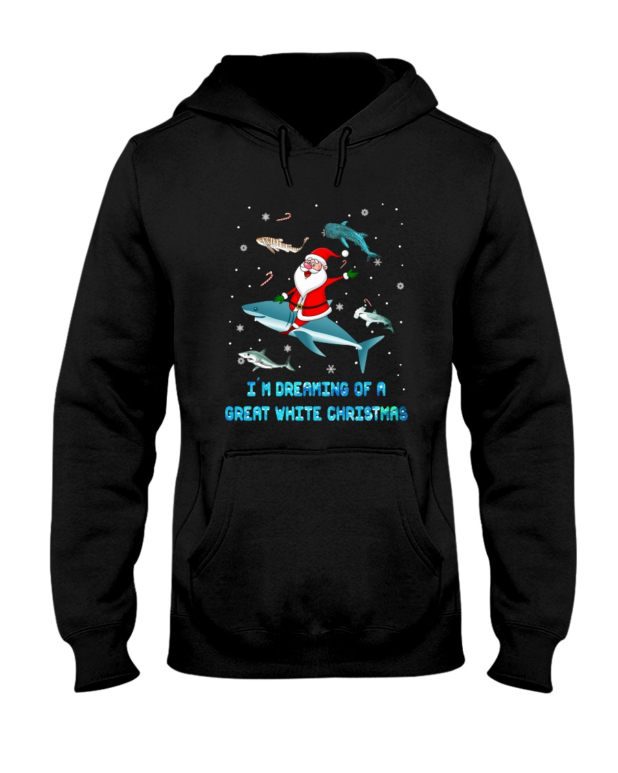 Christmas Gifts For Shark Lovers Hooded Sweatshirt