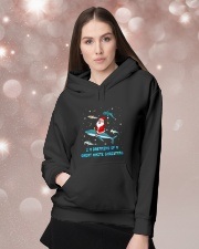 Christmas Gifts For Shark Lovers Hooded Sweatshirt lifestyle-holiday-hoodie-front-1