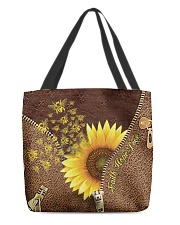 Bee Sunflower Tote Bag All-over Tote back