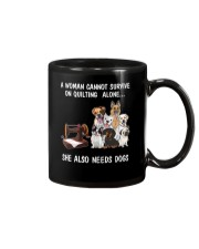 She Also Needs Dogs Mug thumbnail
