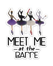 Ballet Meet Me At The Barre Sticker - Single (Vertical) front