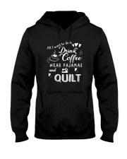 I Want Quilt Hooded Sweatshirt tile