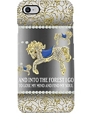 Horse Into The Forest Phone Case i-phone-8-case